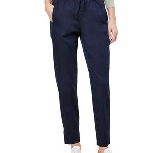 Lou & Grey super soft sateen pants Navy L